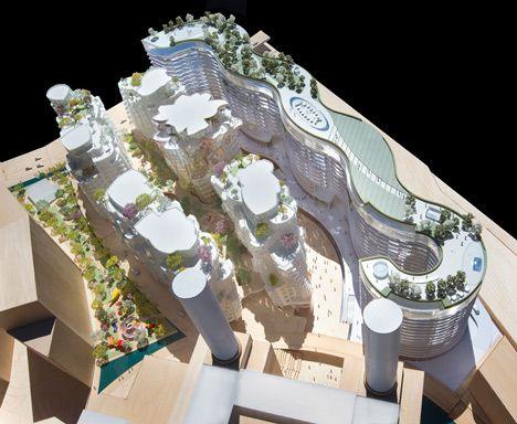 Het plan omvat de constructie van verschillende gebouwen.
