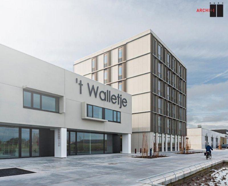 BURO II & ARCHI + I creëert met 't Walletje een nieuw onderkomen voor bedrijven