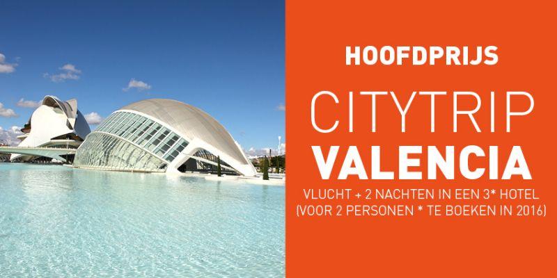 De winnaar van de housiewedstrijd krijgt een citytrip naar Valencia cadeau.
