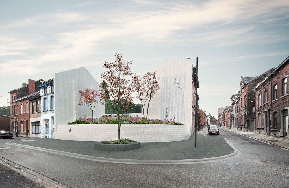 Un jardin mémorial pour remplacer la maison de Marc Dutroux à Marcinelle