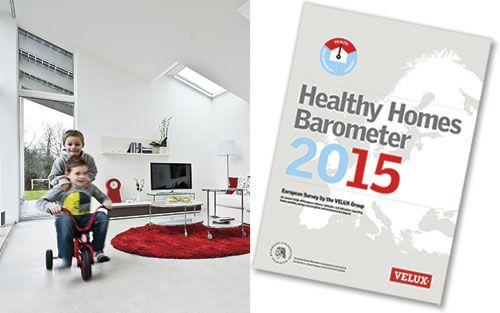 Het onderzoek, The Healthy Homes Barometer, bestudeerde 14.000 mensen in 14 Europese landen - waaronder België - om meer inzicht te krijgen in de mate waarin het huis van de Europeanen hun gezondheid beïnvloedt.