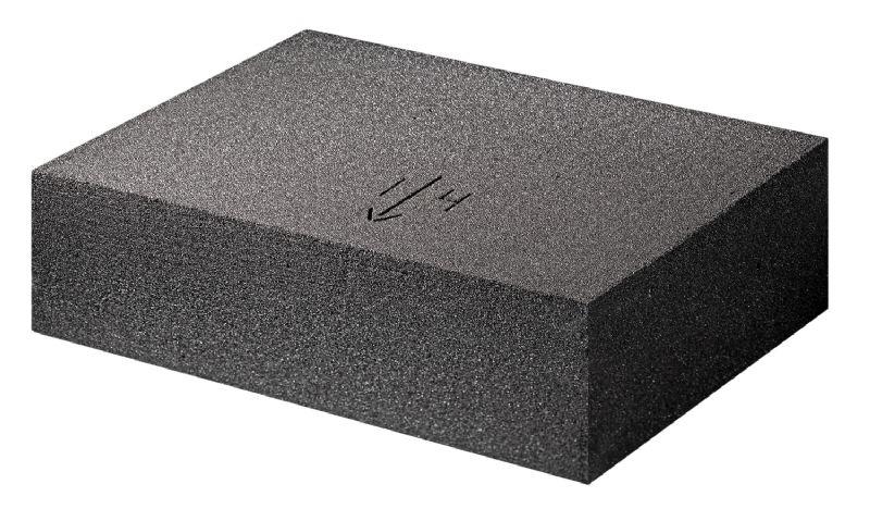 Afschotisolatie Foamglas Tapered garandeert afwatering voor platte daken