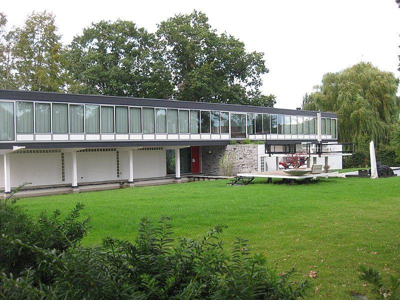 Woning ontworpen door Lucien Engels