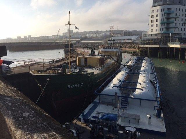 Holcim België en partners bieden een oplossing op maat voor de Brighton Marina