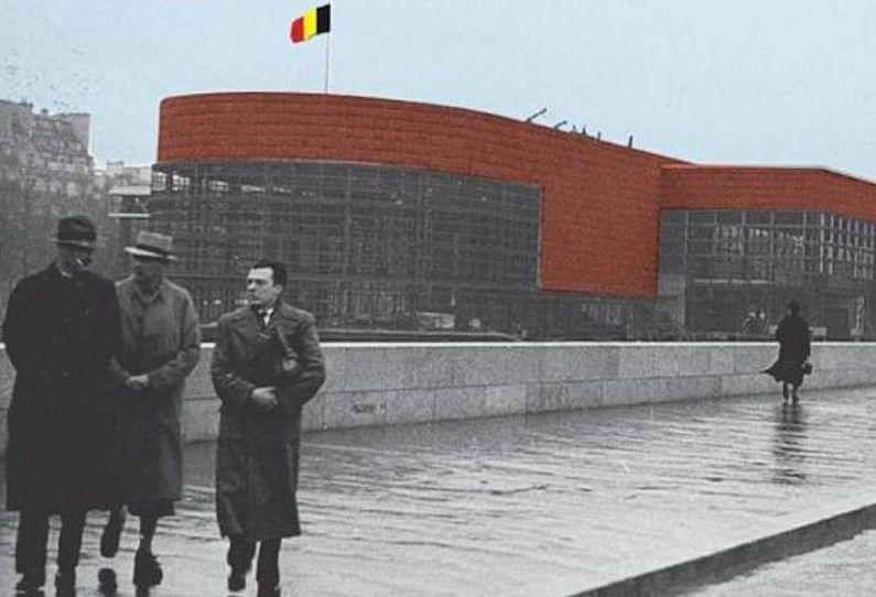 Raphaël Verwilghen ontwierp samen met Jean-Jules Eggericx en zijn bekendere vriend en collega Henry van de Velde het Belgische paviljoen op de wereldtentoonstelling van Parijs in 1937.