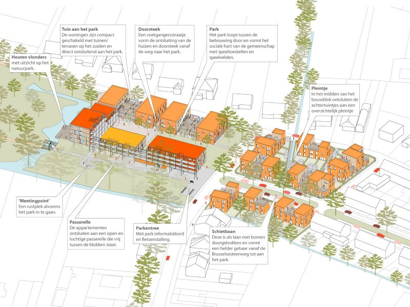 Herstructurering van Den Tir zorgt voor zeventig nieuwe woningen.