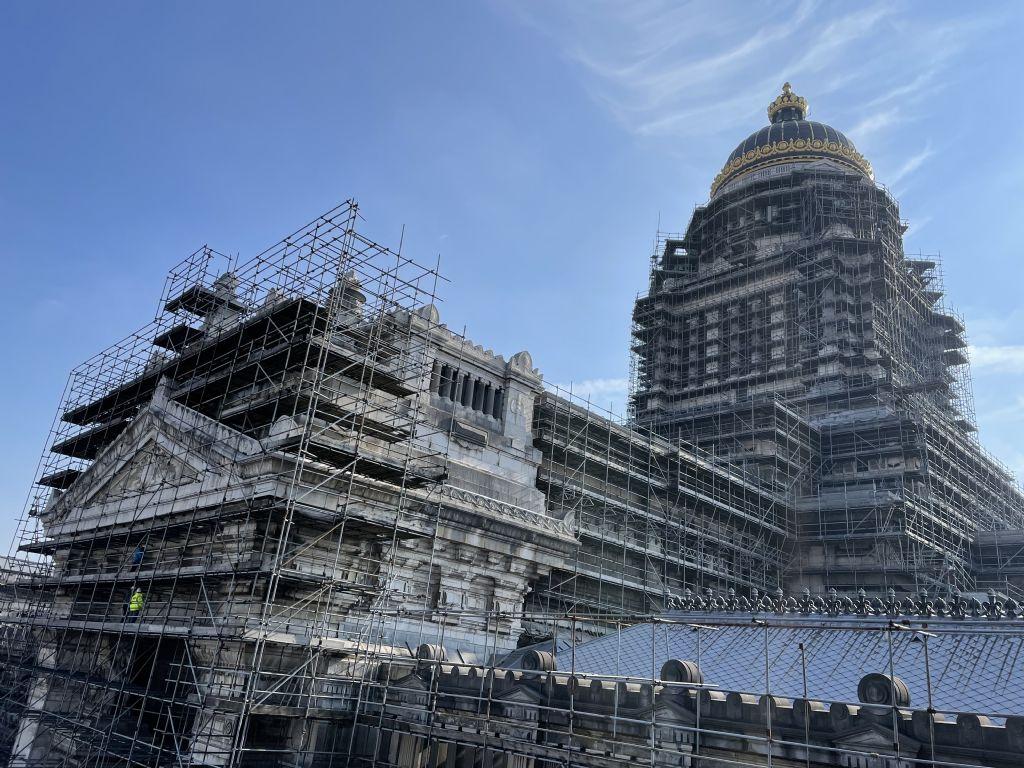 PERSPECTIV architecten neemt gevel Justitiepaleis in Brussel onder handen