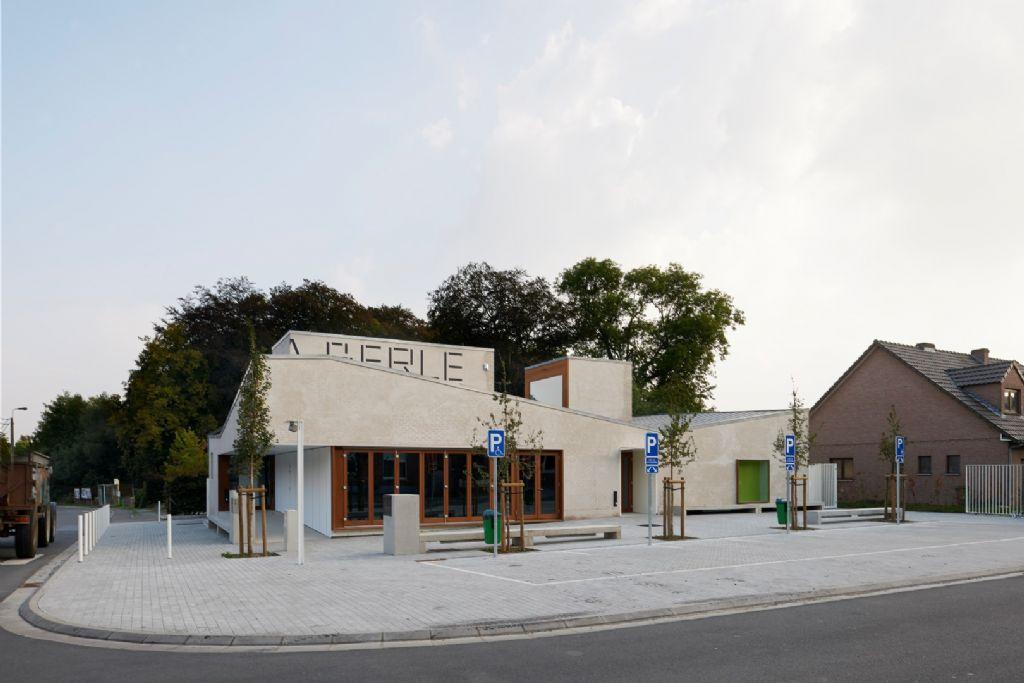 Ce projet a remporté le Grand Prix d'Architecture de Wallonie 2019 dans la catégorie Bâtiment public à usage collectif