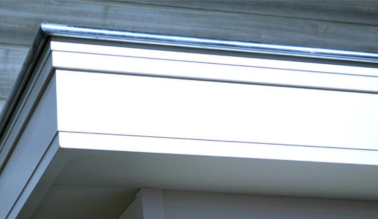 Exclusieve gevel-en dakgootbekleding te zien op Belgian Roof Day