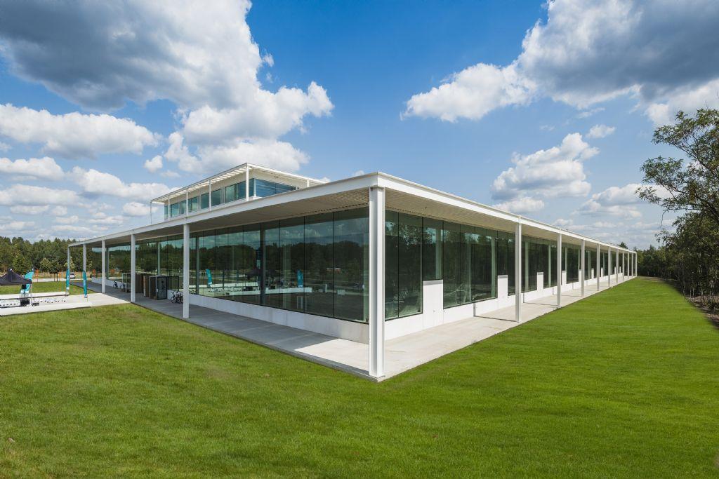 De 2,4 hectare grote T2-campus op de Thor-site in Waterschei dient zich aan als een smeltkroes van technologische knowhow.
