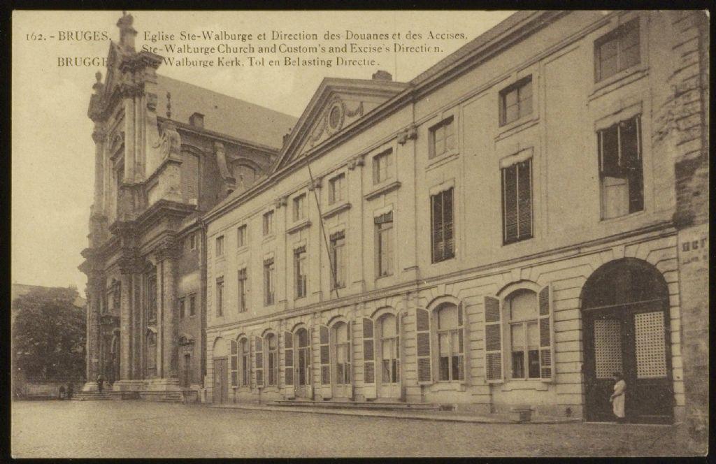 Historische foto voorgevel 1920