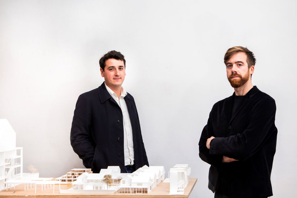 De gauche à droite : Sébastien Dachy et Matthieu Busana