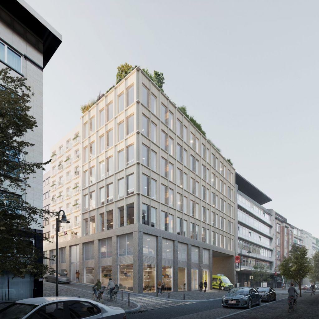 B-architecten en VELD winnen ontwerpwedstrijd OCMW Brussel