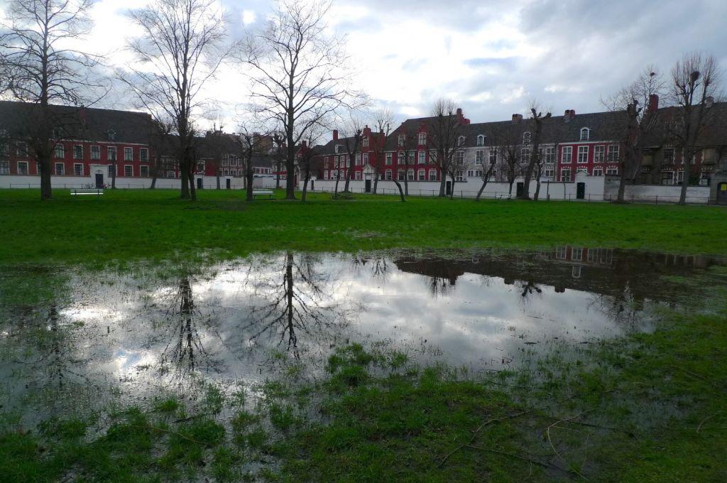 Begijnhof van Gent: de stad als een spons