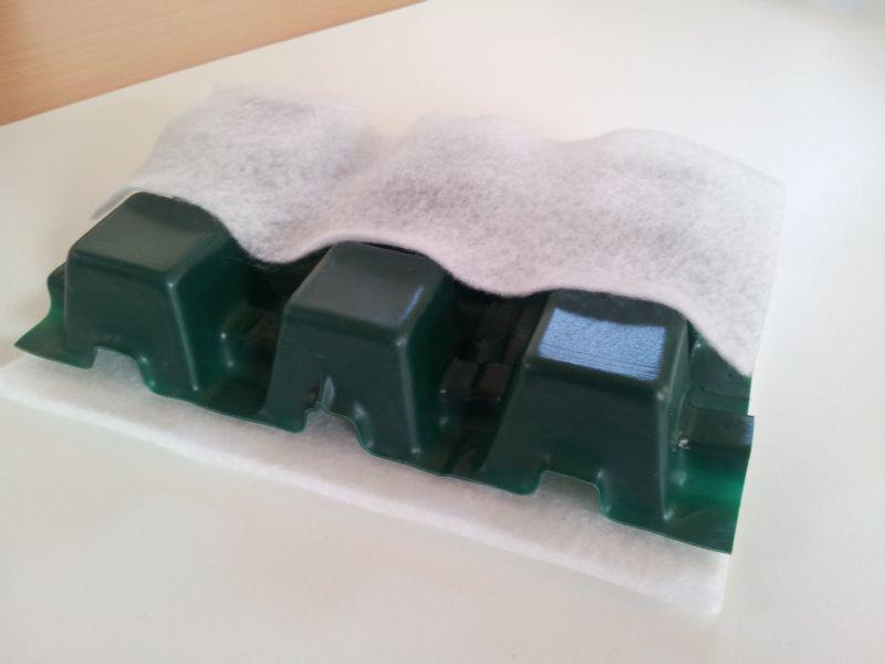 ZinCo stelt dakopbouwsysteem uit hernieuwbare bioplastics voor