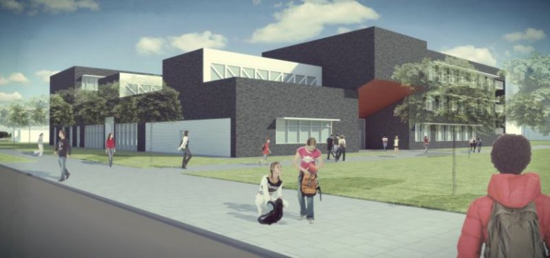 De nieuwe school zal leerlingen zes (of zeven) jaar lang opleiden.