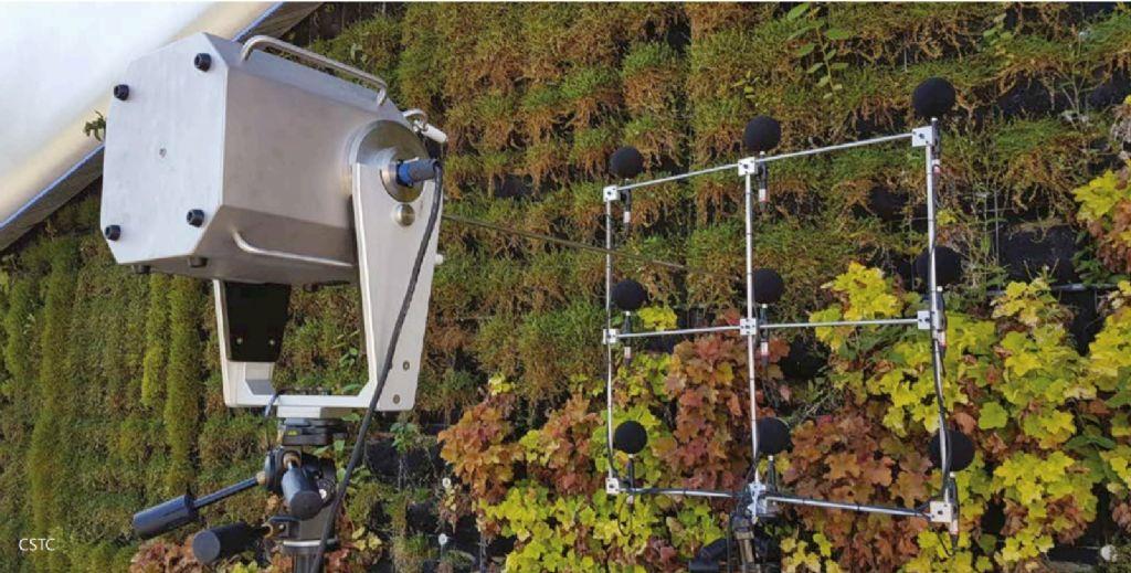 Info technique : Des façades vertes pour réduire la gêne acoustique à l'intérieur et à l'extérieur des bâtiments