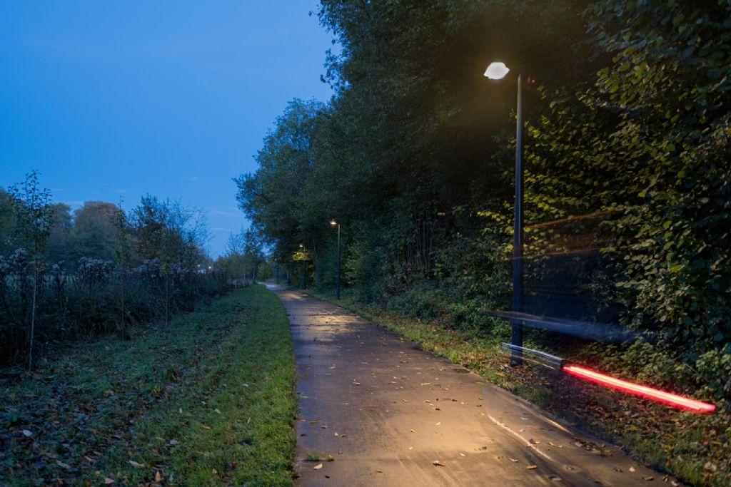 Encourager la mobilité douce avec un éclairage dynamique