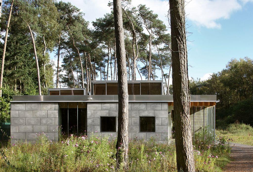 Dans la catégorie Habitat individuel, le lauréat est ONO architectuur avec cette habitation à Waasmunster.