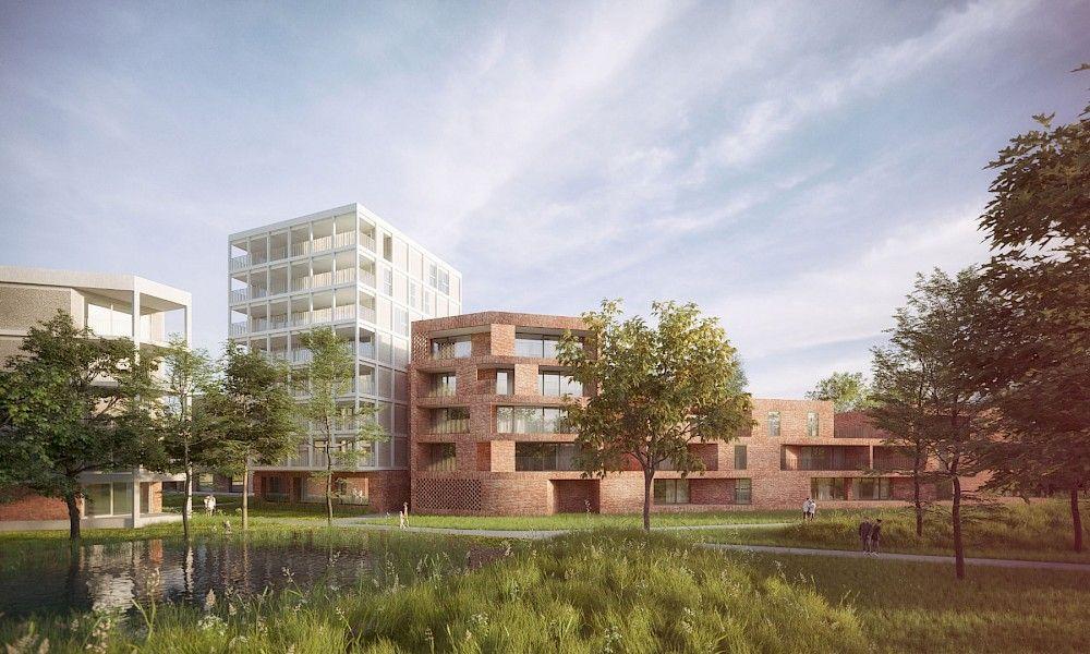 Werken aan De Heern in Herentals gaan van start (POLO Architects)