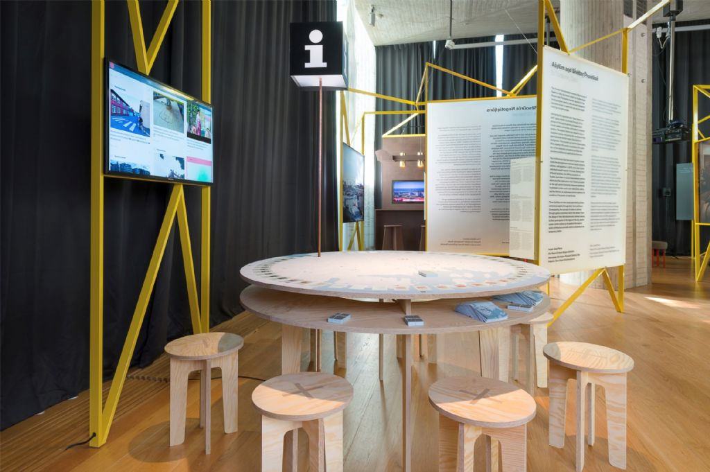 Installatie tentoonstelling 'In Residence', OAT 2016, National Museum – Architecture, Oslo