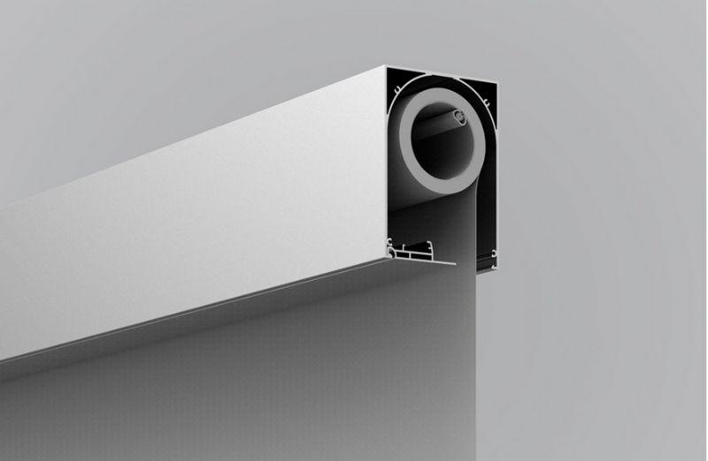 Duco stelt nieuwe, onzichtbare doekzonwering DucoScreen Front 150 voor