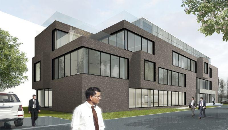 De kantoren moeten in april 2014 afgewerkt zijn.