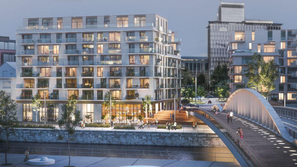 Nieuwe dynamiek in Brusselse kanaalzone zet zich voort met woningproject RIVA