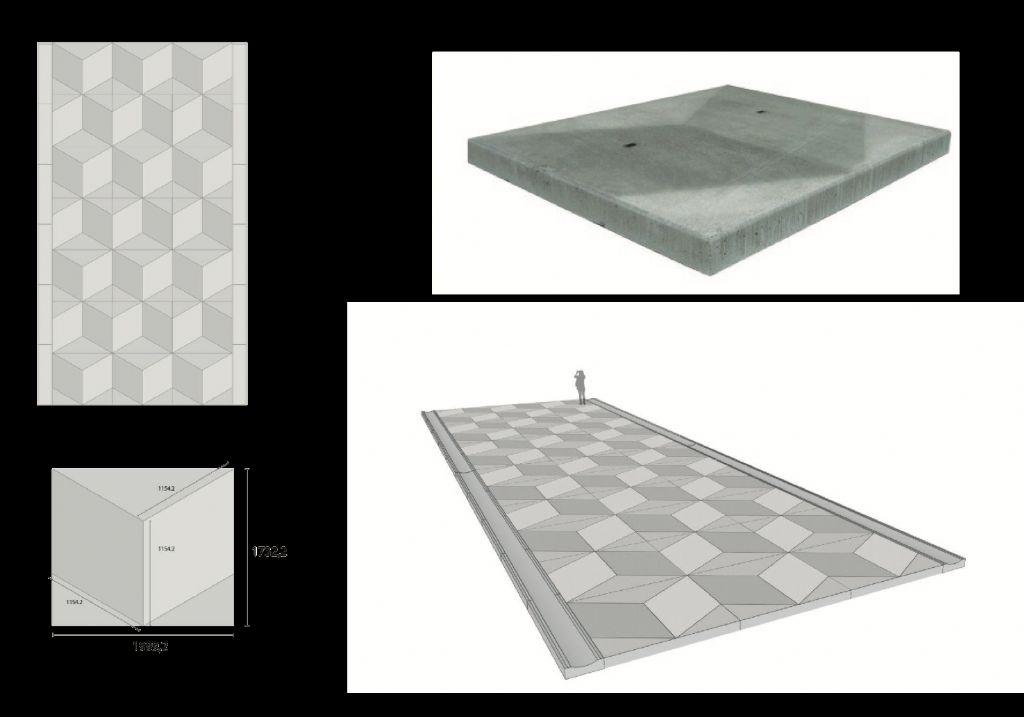 Schema betontegel