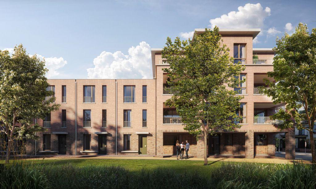 Voormalige kleuterschool in Mortsel ruimt plaats voor gemengd woonproject (BULK architecten)
