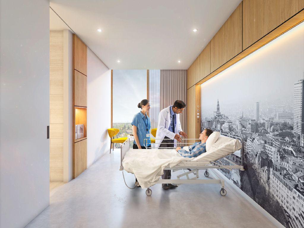 """Architecture D Intérieur Saint Luc hospitacité"""" va revitaliser les cliniques universitaires"""