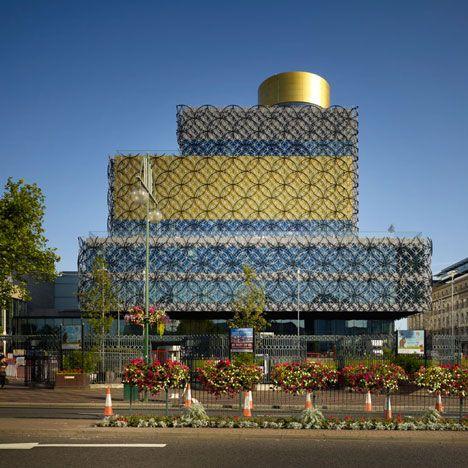 De bibliotheek van Birmingham door Mecanoo