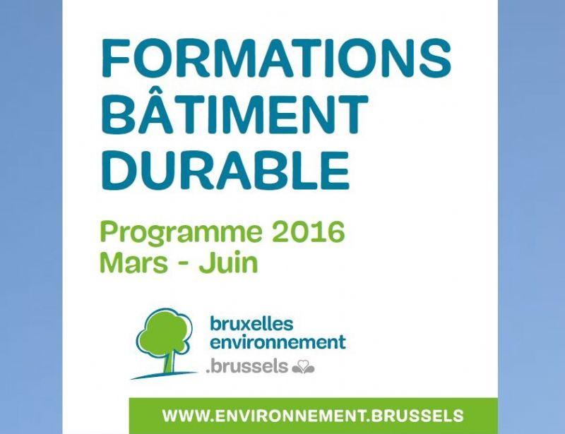Opleidingen Duurzame gebouwen voorjaar 2016: een overzicht