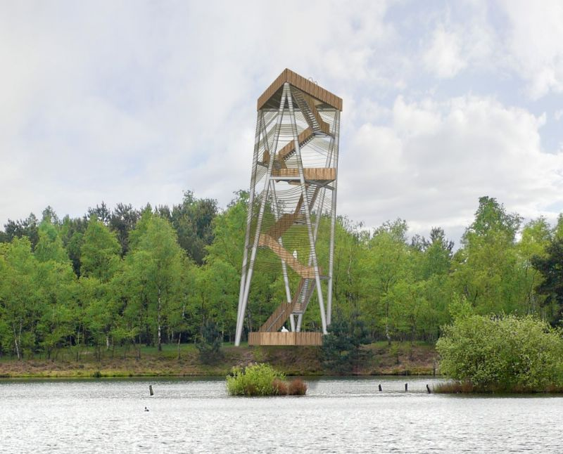 Uitkijktoren Sahara (Ateliereen, MamuArchitects)