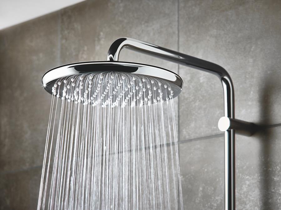 'Energy for life' avec les systèmes de douche haute qualité de GROHE