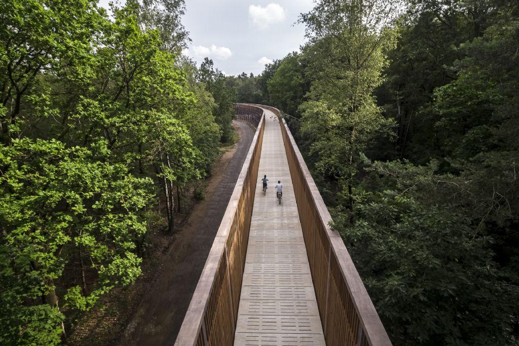 'Fietsen door de Heide' in Nationaal Park Hoge Kempen van MAAT-ontwerpers en Witteveen + Bos geopend
