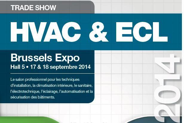L'édition 2014 du salon HVAC & ECL s'annonce à Brussels Expo