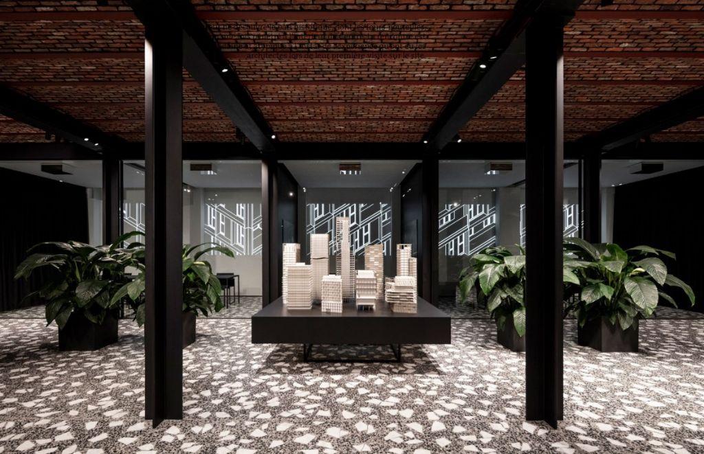 Un granito exceptionnel embellit le nouveau QG du bureau Binst Architects