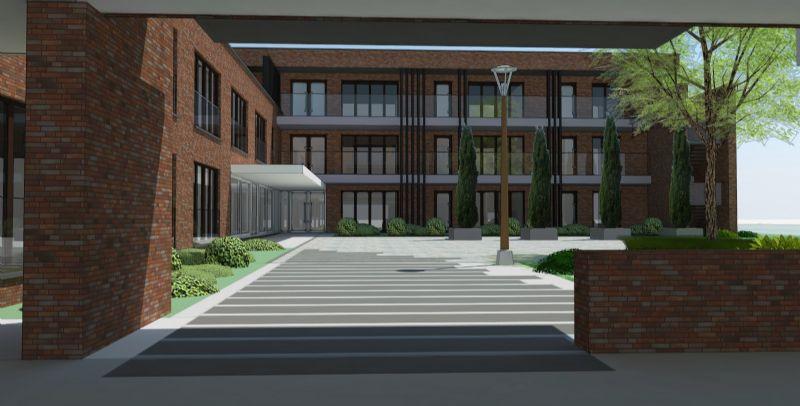 Het gebouw moet vlot toegankelijk zijn voor iedere bewoner.