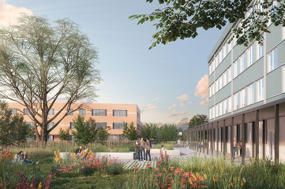 B2Ai en Stramien winnen ontwerpwedstrijd voor nieuwe GO! STrEaM Campus Groot Schijn in Deurne