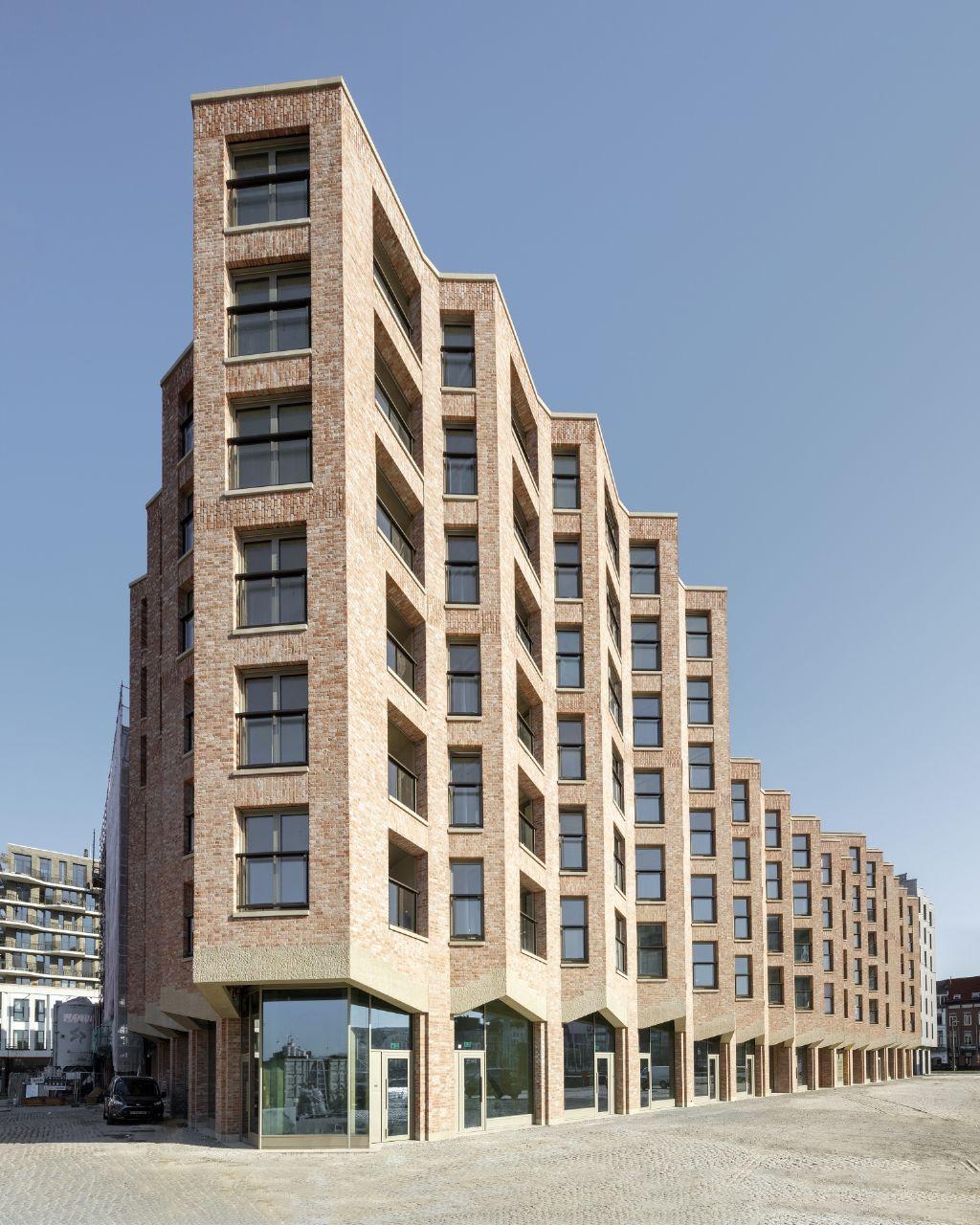 Havengebouw Cadix, Antwerpen: Sergison Bates architects i.s.m. eld