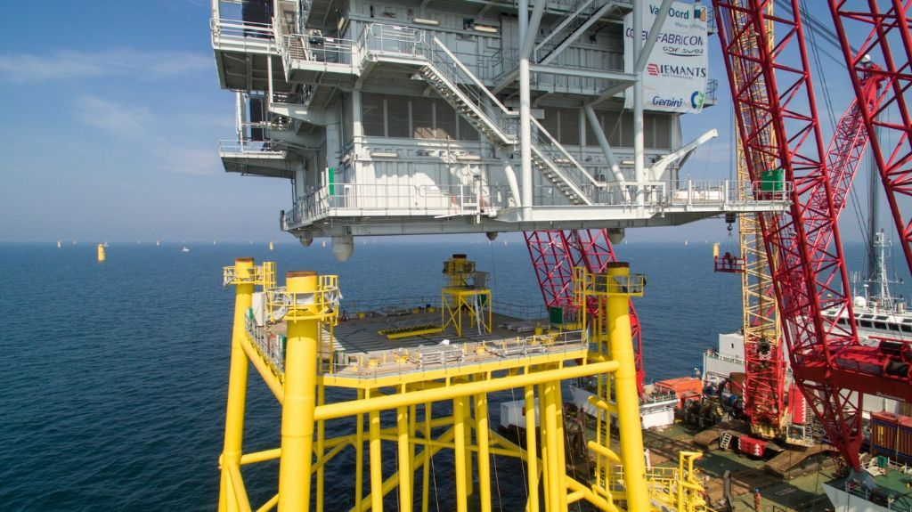 Internationale projecten: Substations Gemini Offshore Windpark, Noordzee (NL).