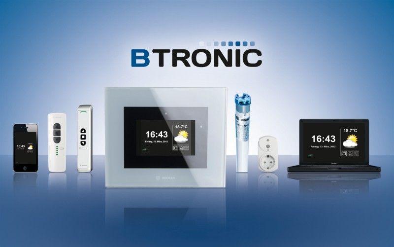 Met de huisautomatisering B-Tronic van Becker-Antriebe kan de status van onder andere aandrijvingen en besturingen in huis met de vingertoppen worden gecontroleerd.