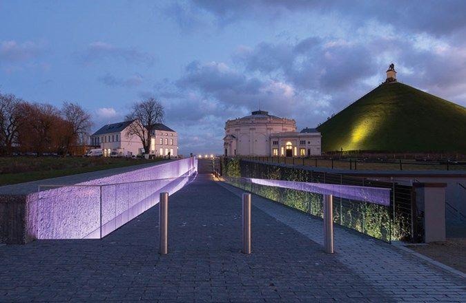 Lumineuse idée de Schréder pour le Mémorial Waterloo 1815