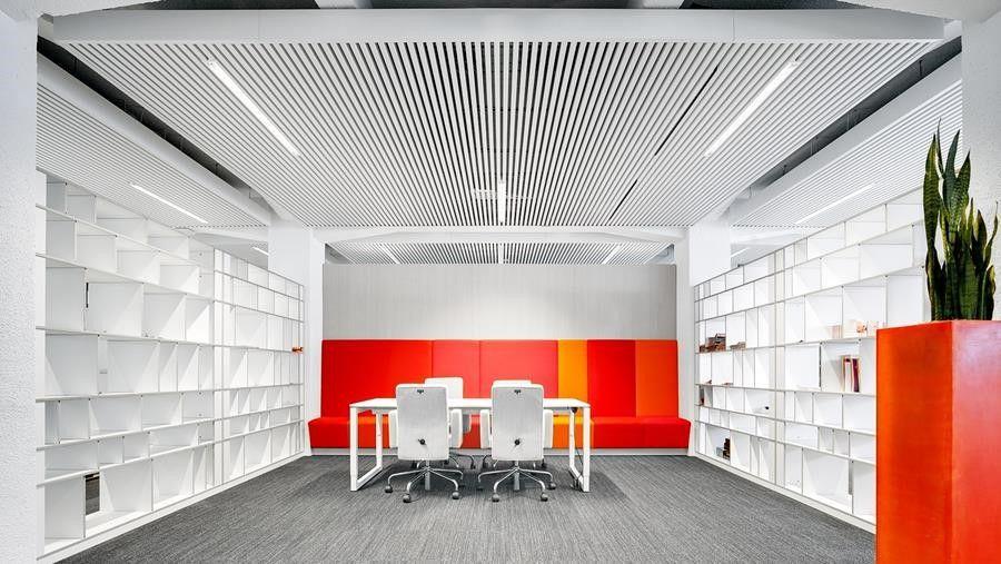 Een onzichtbaar metalen plafond voor een gezond binnenklimaat