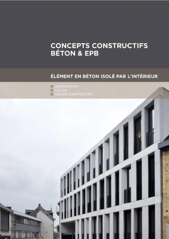 Noeuds constructifs : béton isolé par l'intérieur