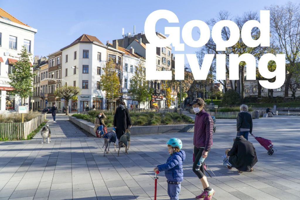 Good Living: een ambitieus kader om Brusselse gebouwen, straten en pleinen future-proof te maken