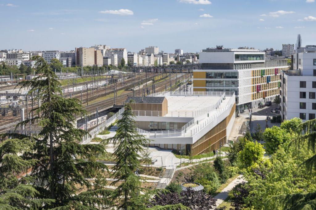 Un centre sportif qui rime avec agriculture urbaine