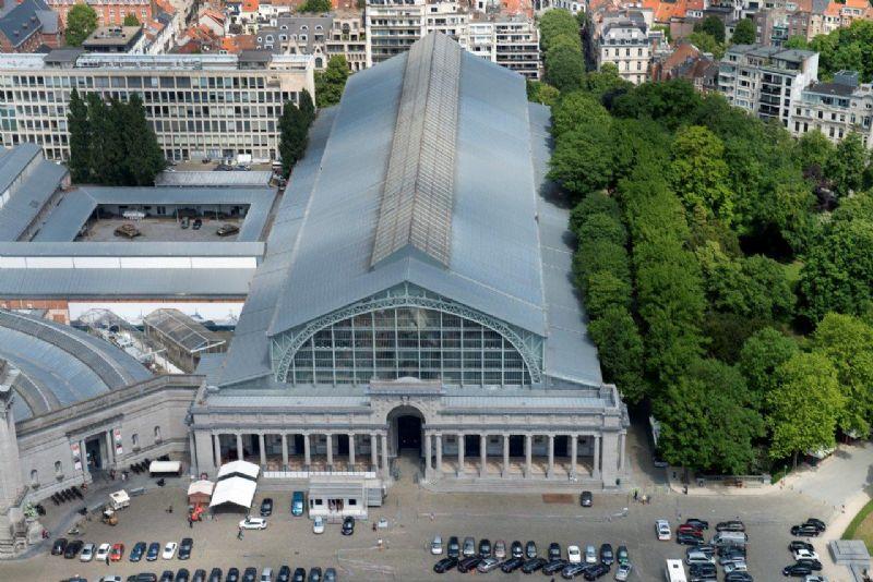 Het luchtvaartmuseum in Brussel, een referentieproject van Foamglas