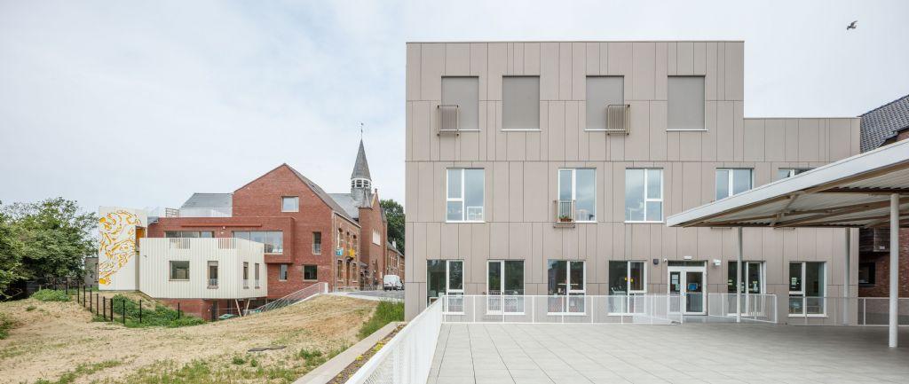 De Groene School verdubbelt capaciteit dankzij ontwerp OSK-AR architecten